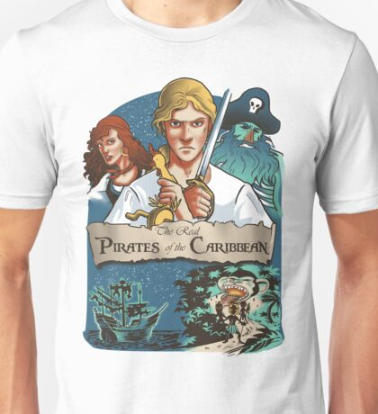 The real Pirates of the Caribbean Unisex T-Shirt