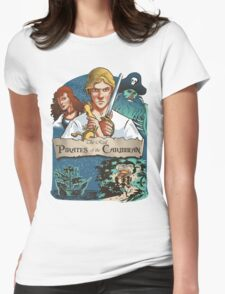 The real Pirates of the Caribbean Womens Fitted T-Shirt