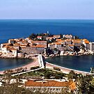 Sveti Stefan by David Davies