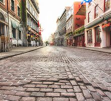 Old Montreal at Dawn by faczen