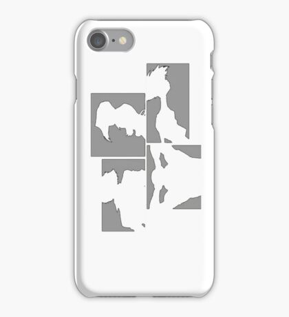 Cowboy Bebop Panels iPhone Case/Skin