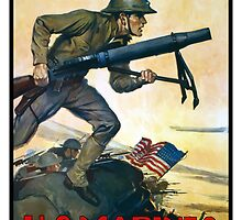 US Marines -- First In France by warishellstore