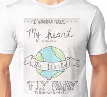 Fly Away Artwork Unisex T-Shirt