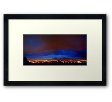 ©HCS The Last Night In Blue And Red Clouds Framed Print