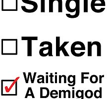 Waiting for a Demigod by Jessica Becker