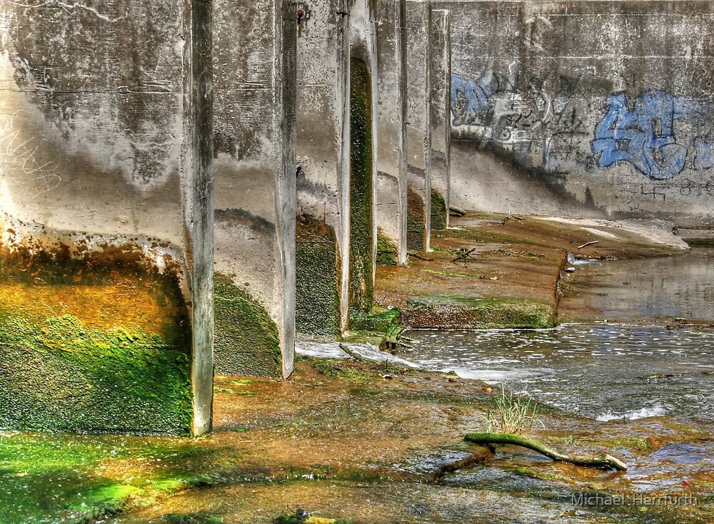 Spill Way by Michael  Herrfurth
