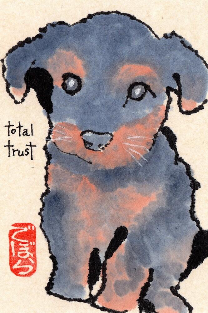 Puppy Trust by dosankodebbie