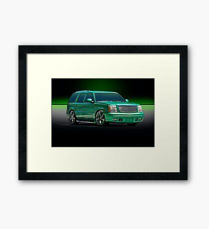 Gangsta' SUV Framed Print