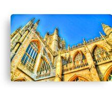 Church in Bath, UK Canvas Print