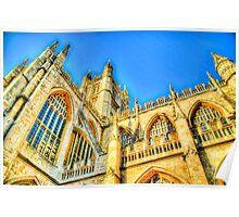 Church in Bath, UK Poster