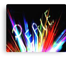 Signs of Peace Canvas Print
