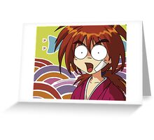 Kenshin Greeting Card