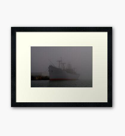 Red Oak Victory Framed Print