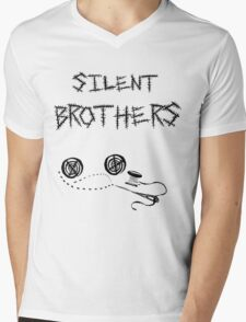 silent brothers. Mens V-Neck T-Shirt