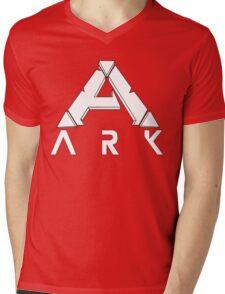 ARK Survival Evolved Minimalist White Mens V-Neck T-Shirt