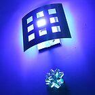 Purple, Lights & Silver Bows by bizarreXpress