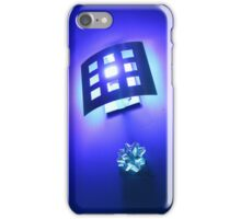 Purple, Lights & Silver Bows iPhone Case/Skin