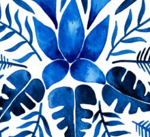 Tropical Symmetry – Navy Sticker