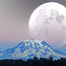 Giant Super Moon by Tori Snow