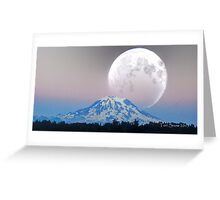 Giant Super Moon Greeting Card