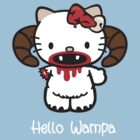 Hello Wampa White Type by wampadude