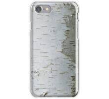 White Bark iPhone Case/Skin