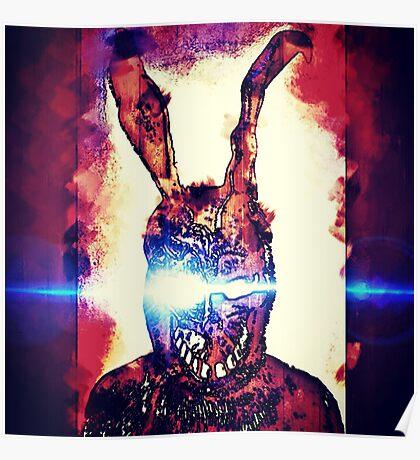 Frank The Rabbit  Poster