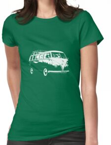VW Split Screen Camper  Womens Fitted T-Shirt