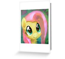 A Cute Girl In Need Greeting Card