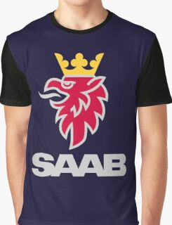 Saab logo products Graphic T-Shirt