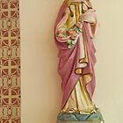 Statue of St Elizabeth of Hungary, Eureka Springs by Margaret  Hyde