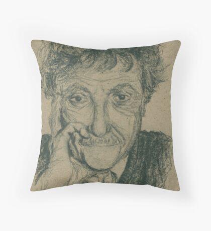 Kurt Vonnegut Throw Pillow