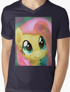 A Cute Girl In Need Mens V-Neck T-Shirt