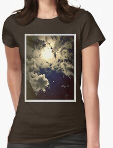 Midnight Sunset  Womens Fitted T-Shirt