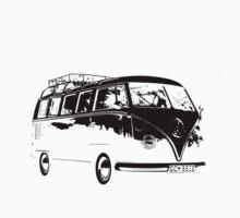 VW Split Screen Camper One Piece - Short Sleeve
