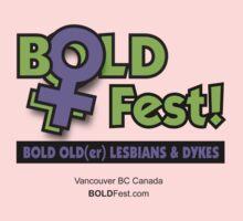 BOLDFest Fundraiser Logo Tee Kids Clothes