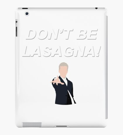Don't Be Lasagna! {FULL} iPad Case/Skin