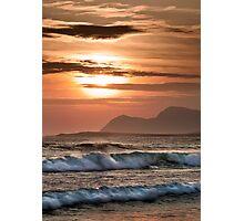 Keel Evening Surf Photographic Print