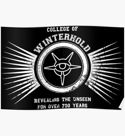 College of winterhold Poster