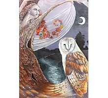 The Owl and the Dryad Photographic Print