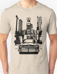 New York Taxi in Times Square T-Shirt