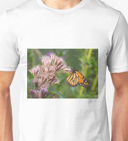 Monarch On Joe Pye Weed 2013-1 Unisex T-Shirt