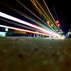 Mundaring Car Lights by Tyson Battersby