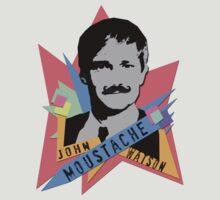 John Moustache Watson | Sherlock series 3 | Fan tee by obsessivegeek