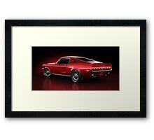 Shelby GT500 - Redline Framed Print