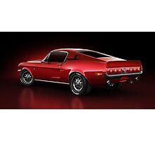 Shelby GT500 - Redline Photographic Print