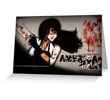 American Mary Greeting Card
