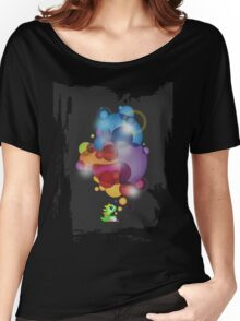 Bubbled Women's Relaxed Fit T-Shirt
