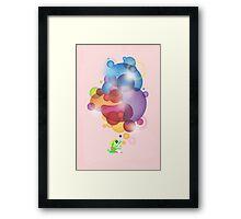 Bubbled Framed Print