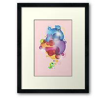 Bubbled Framed Print